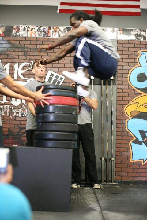 Kendrick box jump