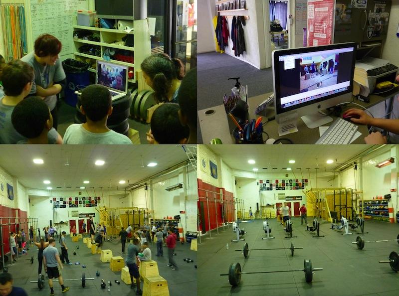 Workout with Kandahar CF at KOP